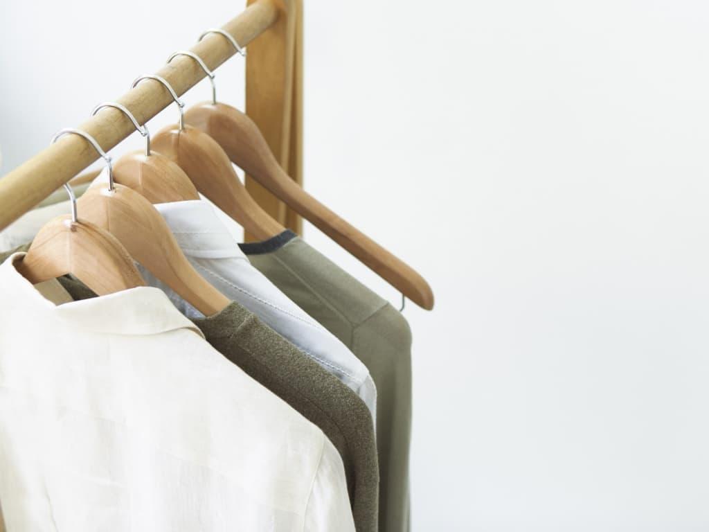 Ассортимент в магазине одежды