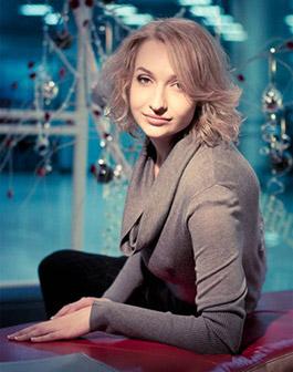 Елена Коровец, 2009 год. Фото— Слава Поталах