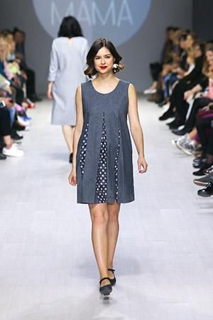 В Минске прошел показ одежды для беременных и кормящих женщин