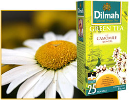 Dilmah. Green Tea. Camomile