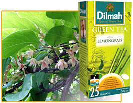 Dilmah. Green Tea. Lemongrass