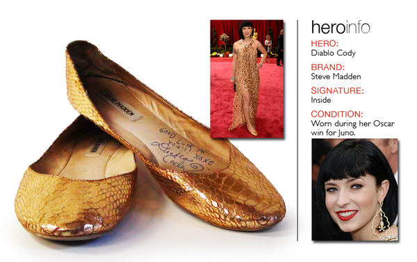 Celeb's Shoes Auction