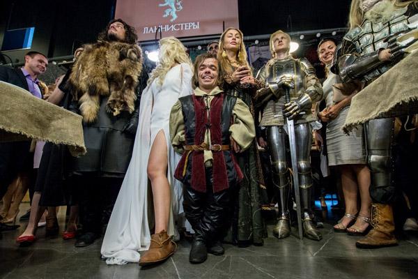 Еда престолов— выбери свой Великий дом в Минске!
