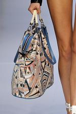 Моя любимая сумочка.  Сшита из ткани, оставшейся после шитья юбки, и.