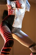Мамонт 2007. Шоу боди-арта