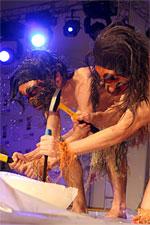 Мамонт 2007. Церемониальное раскалывание льда