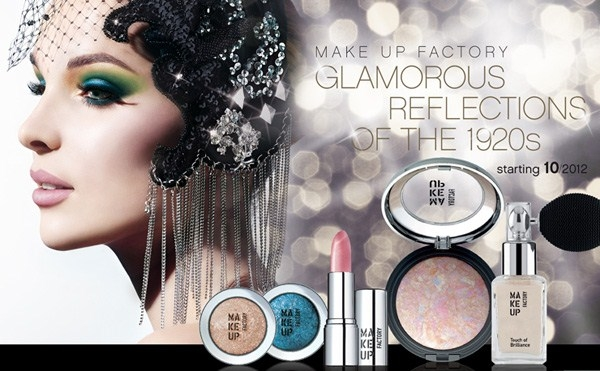 Вышла коллекция макияжа Make Up Factory Glamorous Reflections of the 1920s