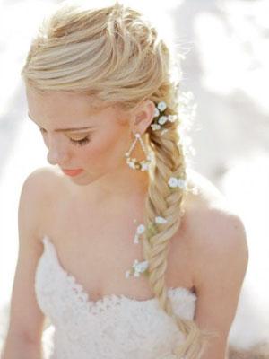 111 Прически косички на свадьбу