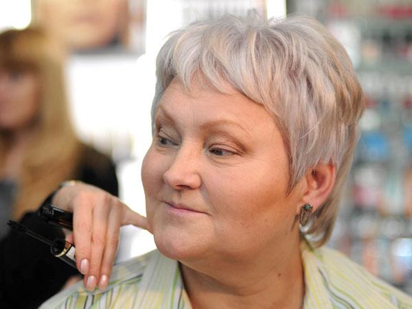 Фото макияжа для зрелых дам фото 347-731