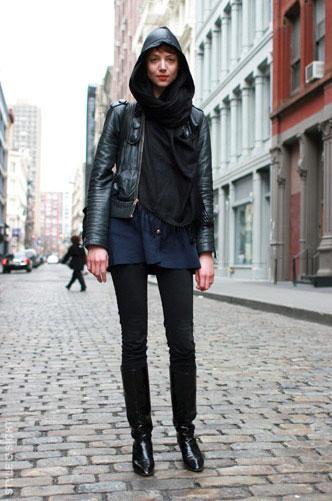 классический кожаный пиджак женский.
