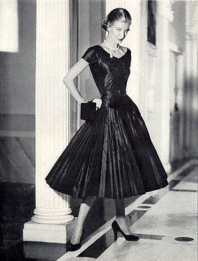 стиль в одежде мода 20х годов, мода 50-х.
