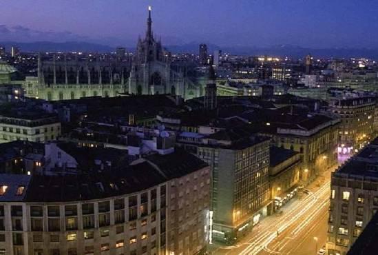 Город Милан. Италия.