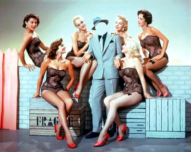 Одна девушка и пять парней