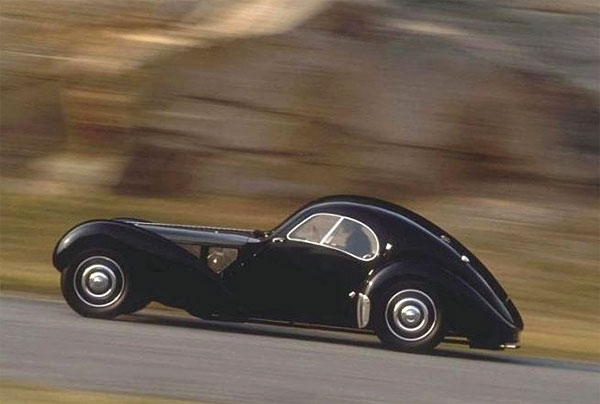 Bugatti Type 57SC Atlantic Coupe 1938 года выпуска