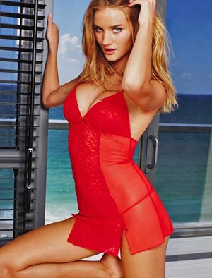 Rosie Huntington-Whiteley for Victoria's Secret