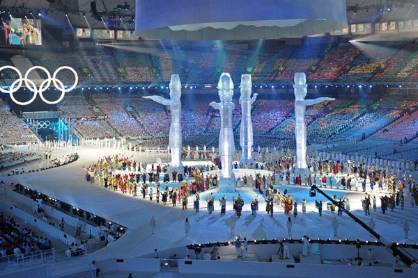 Winter Olympics 2010 Oppening