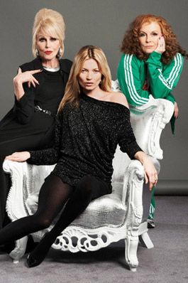 Кейт Мосс снимется в сериале Absolutely Fabulous