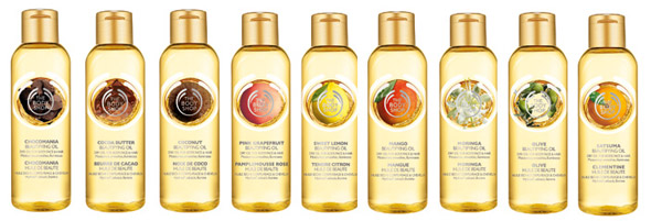 Марка The Body Shop выпустила сухое масло для лица, волос и тела