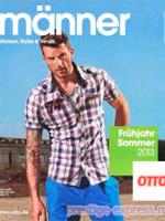 Manner весна-лето - 2013. Широкий выбор мужской одежды, обуви и аксессуаров. Каталог на немецком языке, 90 страниц