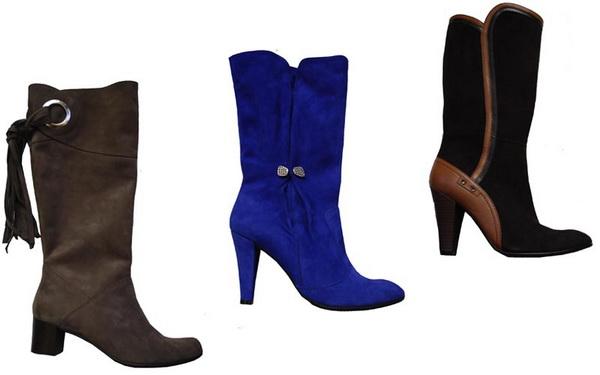 Женская обувь - Мужская обувь - Pre-sale -30 .  Обувь из замши и нубука.
