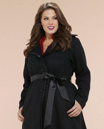 ажурные пальто для полных.