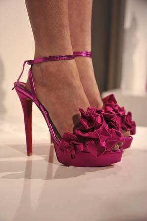 Летняя женская обувь из натуральной